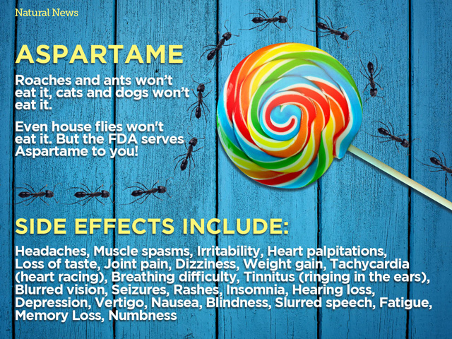 the side effects caused by aspartame Claims have been made that aspartame is related to health effects ranging from mild problems such as headache, dizziness, digestive symptoms, and changes in mood, to more serious health issues such as alzheimer disease, birth defects, diabetes, gulf war syndrome, attention deficit disorders, parkinson disease, lupus, multiple sclerosis, and seizures.