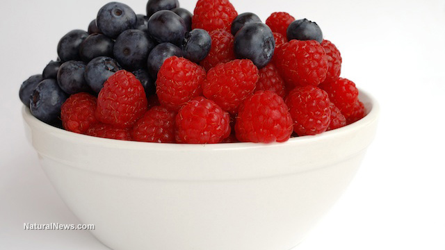 Image: New study says berries boost your brain
