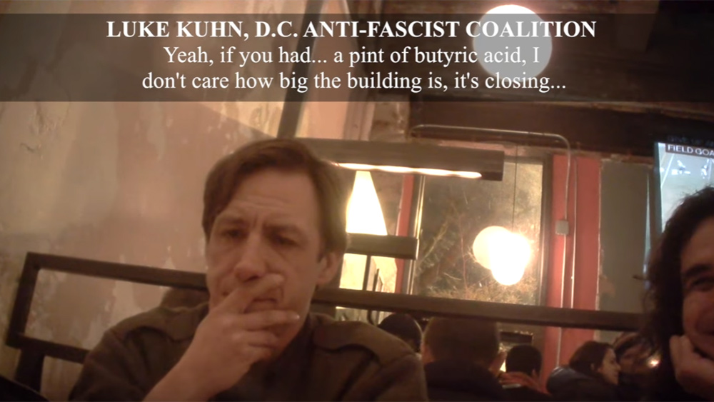 Image: Anti-Trump leftists caught on video plotting inauguration terrorist acts, chemical attacks and mass violence… weapons cache discovered with guns and ammo