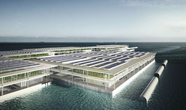 Image: Floating farm of the future to produce 20 tons of vegetables a day