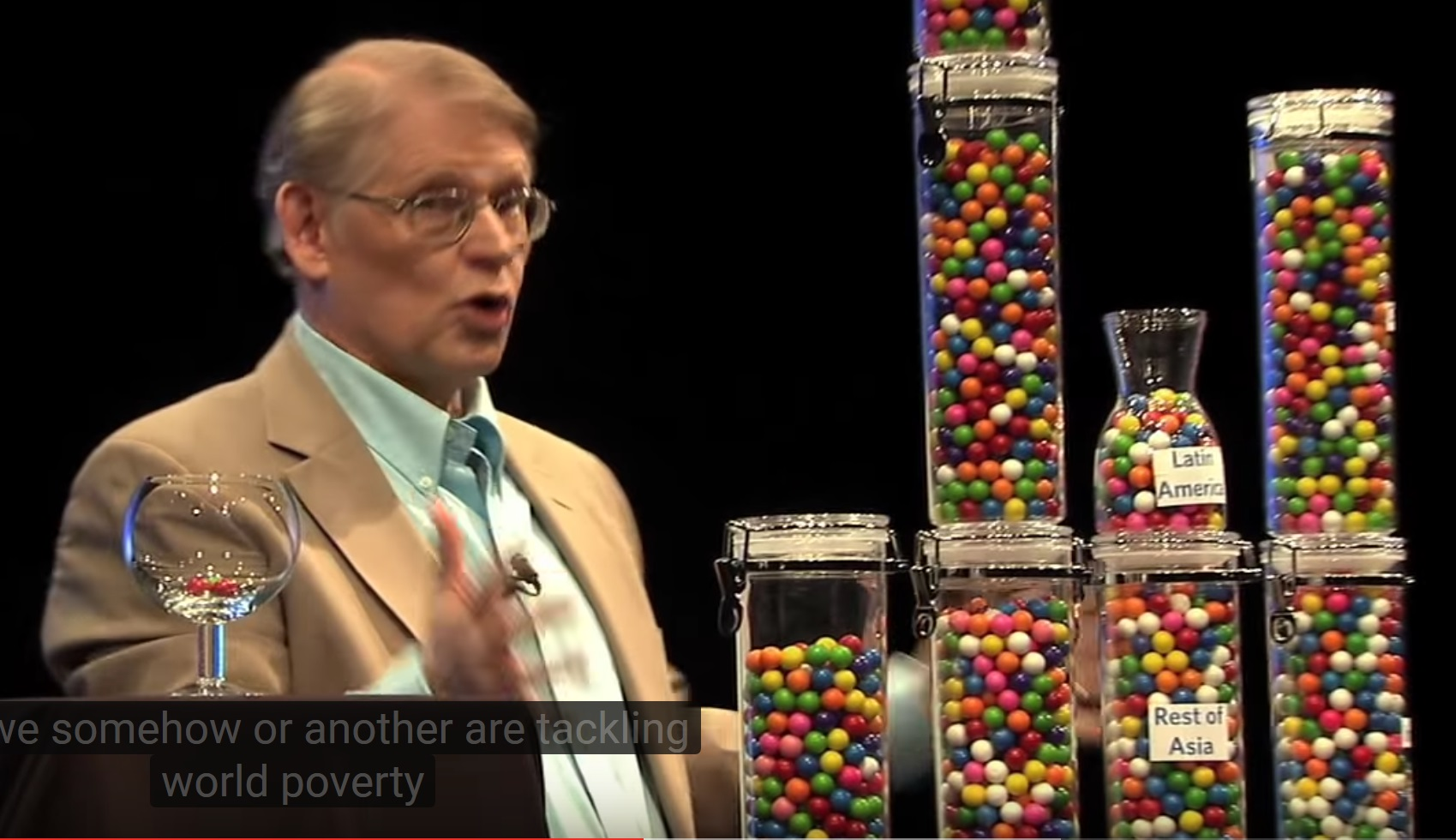 Image: Media's totally false narrative about refugees demolished by simple visual demonstration involving GUMBALLS (video)