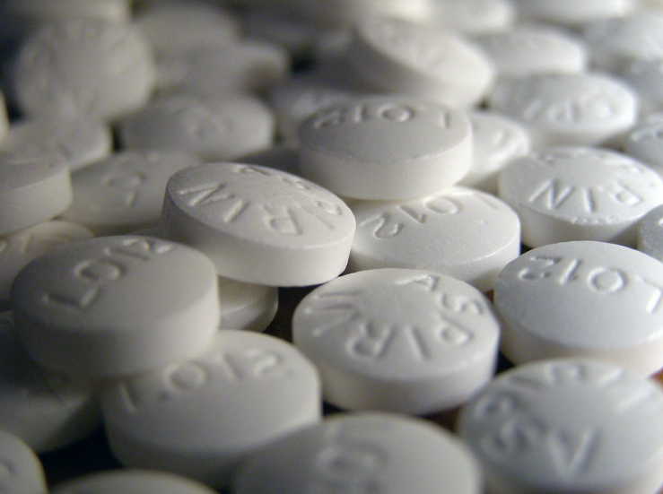 Image: Daily aspirin found to increase risk of heart attack by 190%