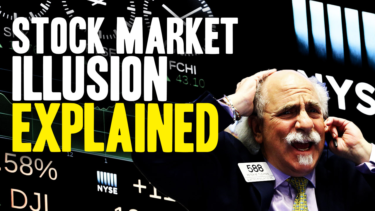 Image: Mind-blowing math animation explains why stock market wealth is an ILLUSION that vanishes in a crash
