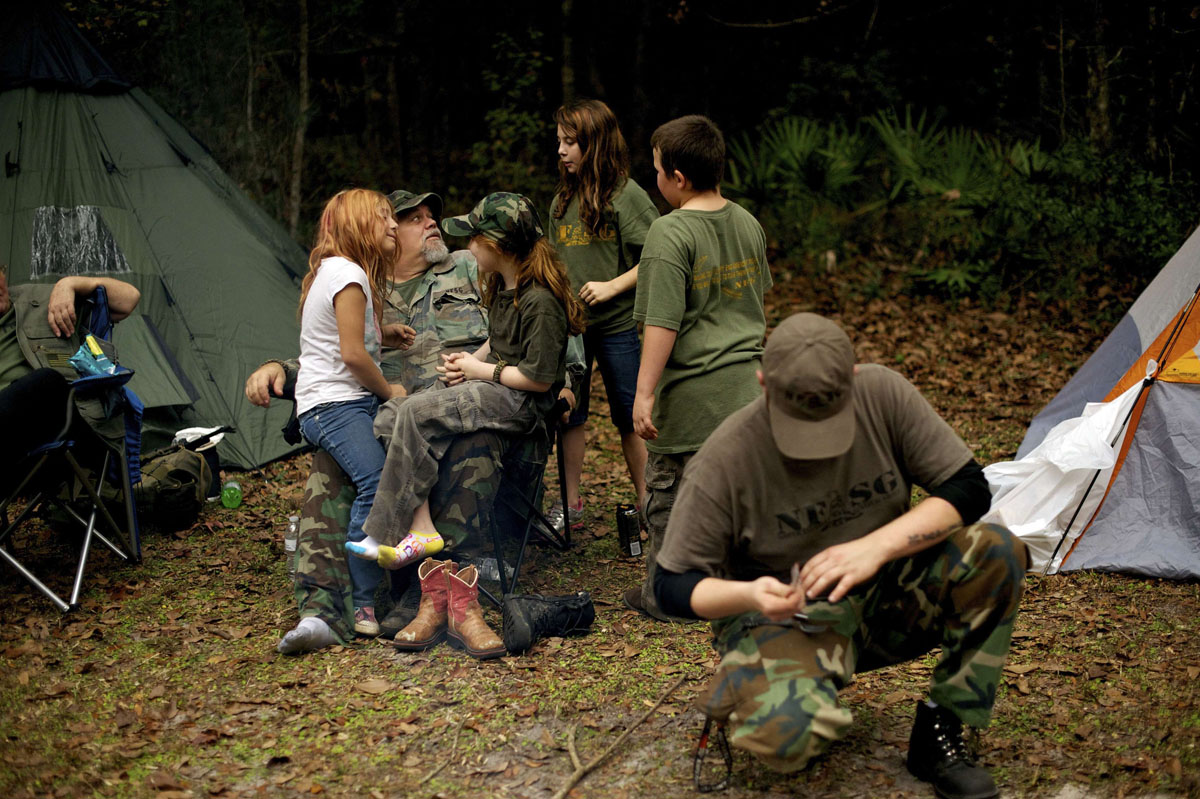 "Image: Get out in the field and learn survival now – because you can't do it ""on the job"""