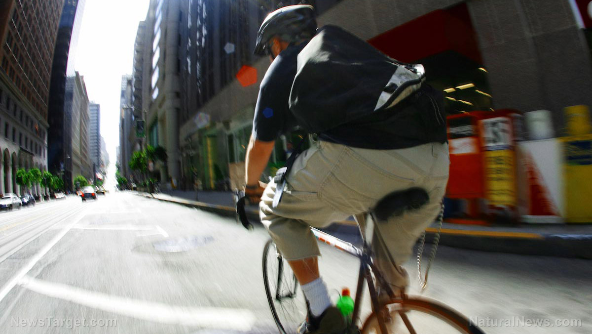 Image: Riding your bike can cut your cancer and heart disease risk by almost half, says new study