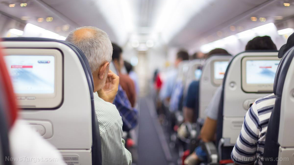 Image: Cabin air on commercial flights can be filled with a vast array of toxic chemicals that cause seizures and nausea
