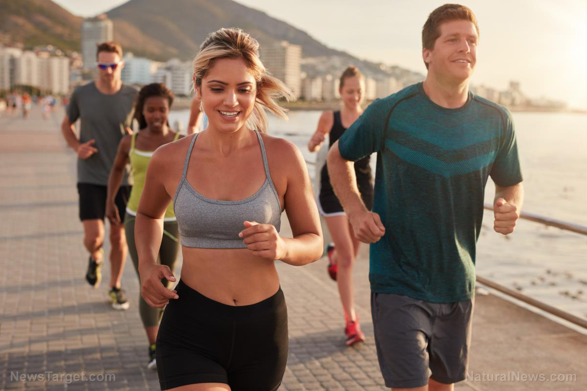 Image: New study reveals that exercise is socially contagious