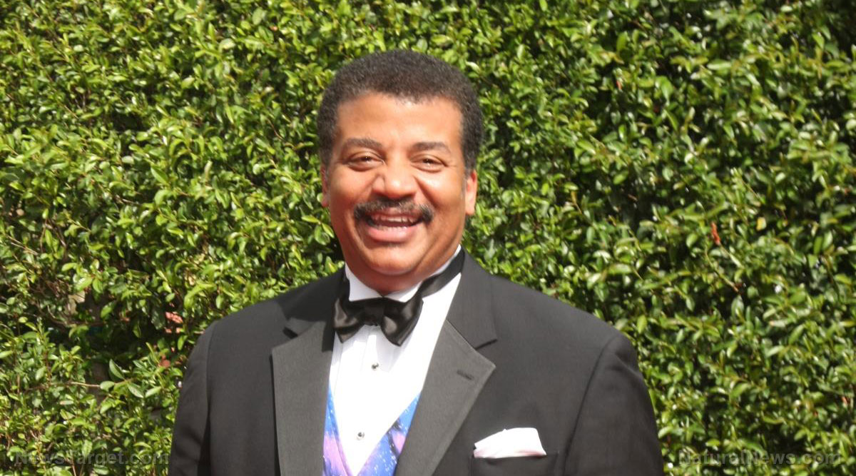 Image: California's declaration means Neil deGrasse Tyson is now pushing a deadly herbicide POISON that kills people
