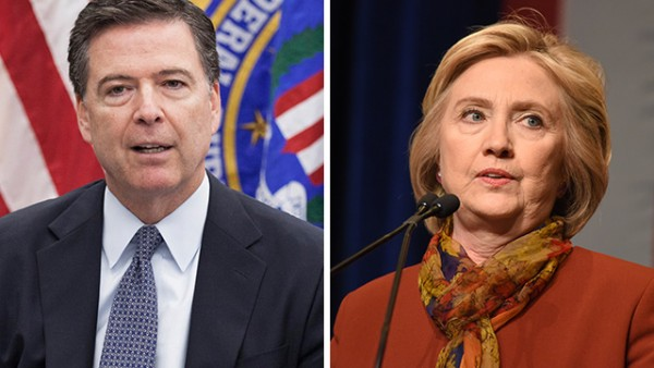 Image: Bombshell: James Comey willfully LIED to America about Hillary Clinton criminal investigation after being pressured by Loretta Lynch