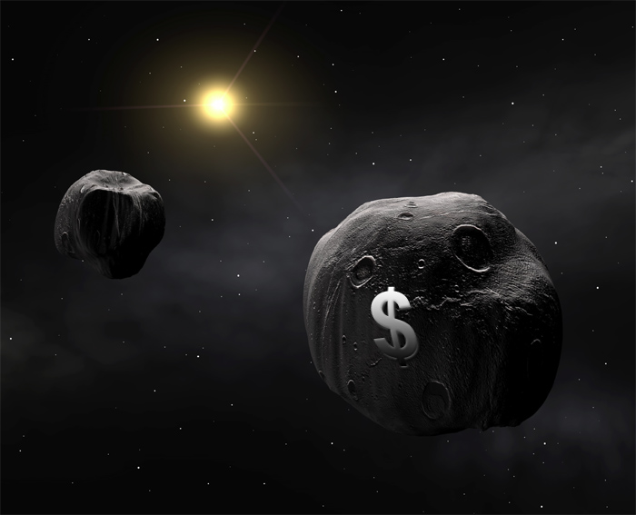 Image: MINING just one large asteroid could COLLAPSE the world economy due to surge of new supply for valuable metals