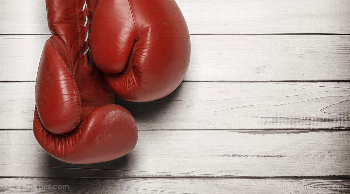Image: Boxing burns more calories than jogging or weight lifting, study finds