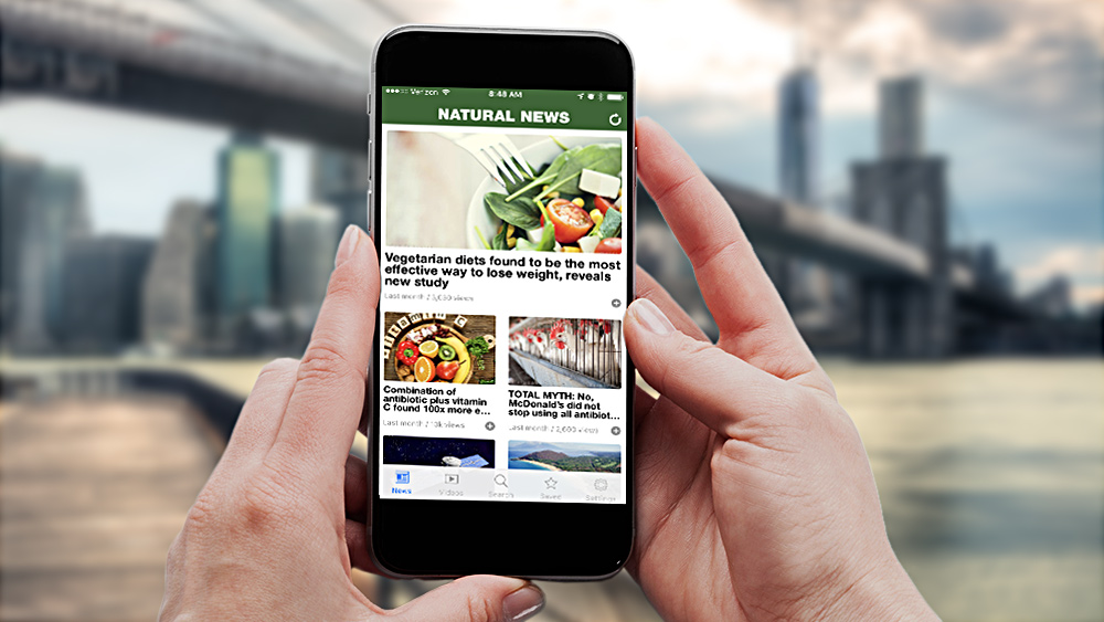 Image: Natural News releases new app for Android and iPhone … get it here