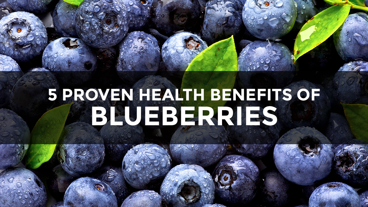 Image: 5 Proven health benefits of blueberries