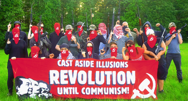"Image: Meet ""Red Guards Austin,"" a Marxist, Left-wing terrorist group based in Austin, Texas"