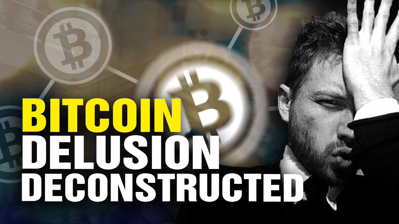 Image: Cryptocurrency house of cards collapse accelerates… Five new Health Ranger podcasts school the deluded in economic reality