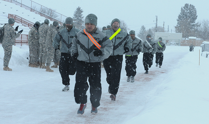 Image: Preppers, staying fit to fight in cold weather is a challenge – but you must do it