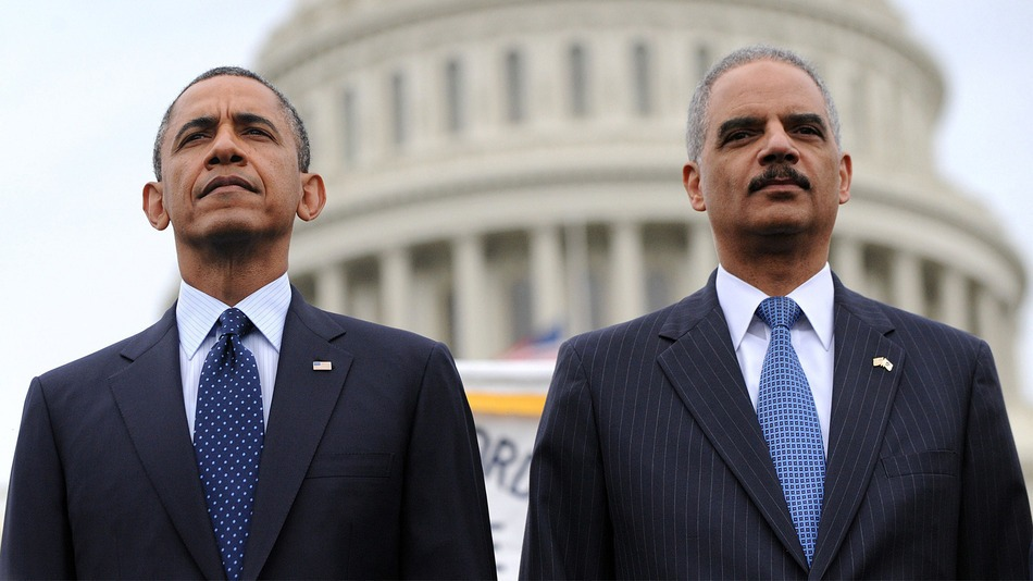 Image: Remember when Barack Obama and Eric Holder allowed guns to be put in the hands of Mexican drug cartels in order to cause maximum violence?