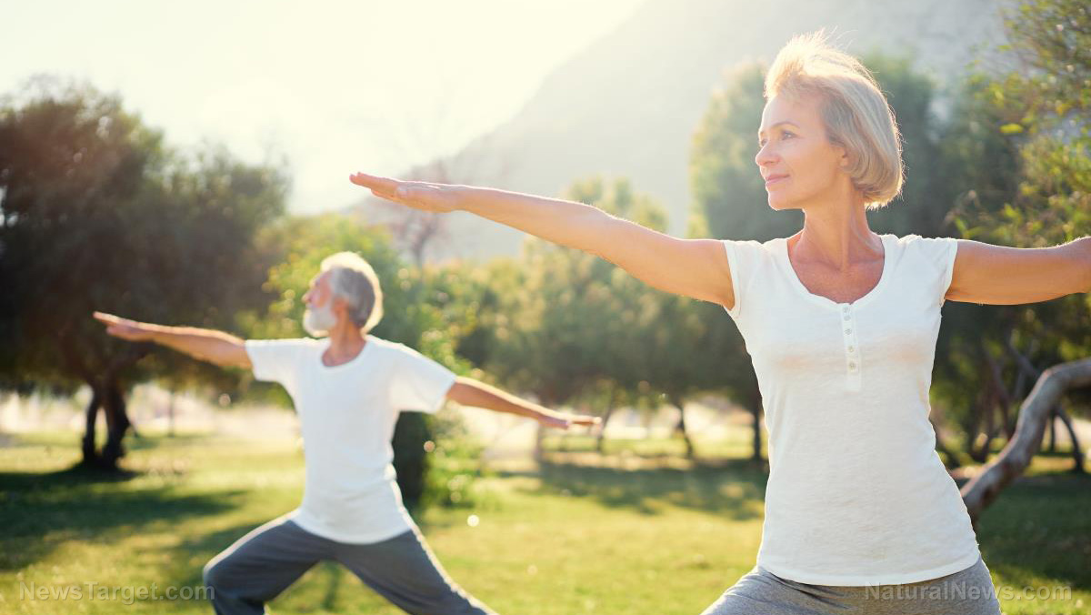 Image: Exercise is great for seniors – Older adults who move around a lot are better able to express themselves