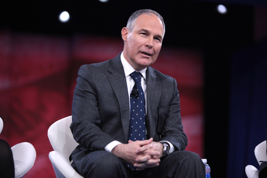 Image: PROOF that liberals despise real science: EPA's Scott Pruitt attacked for daring to require full transparency of scientific evidence behind EPA regulations
