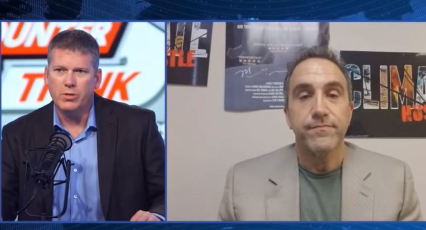 "Image: Counterthink video: Mike Adams interviews Marc Morano on the greatest ""science"" hoax of our time: climate change"