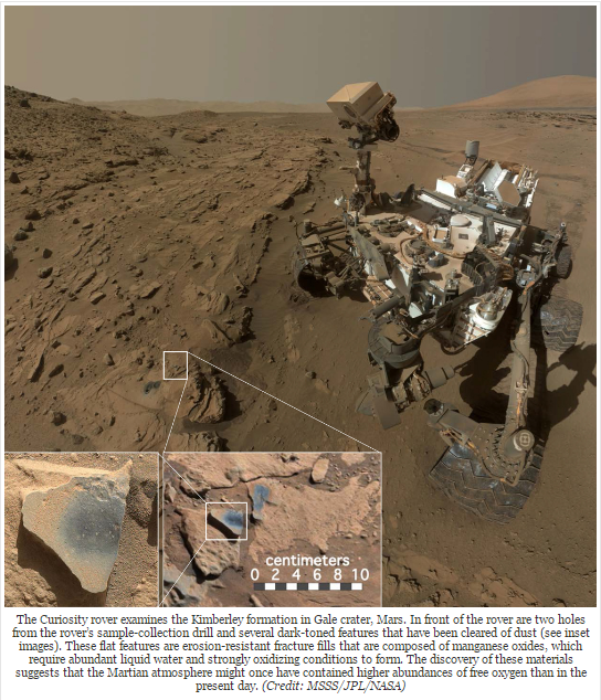 Image: The discovery of preserved organics on Mars calls for new tests targeting biosignatures, says scientist