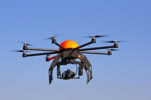 Image: Drone-based pizza delivery service launched in Iceland… won't the pizza get cold?