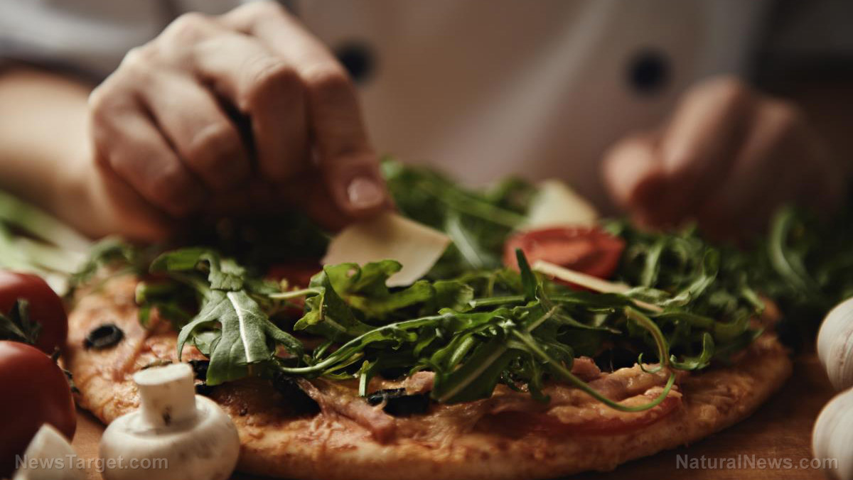 Image: Scientists make a pizza that can fight cancer