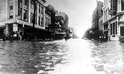 "Image: Photos of Houston floods from early 1900s prove natural disasters not caused by so-called ""climate change"""
