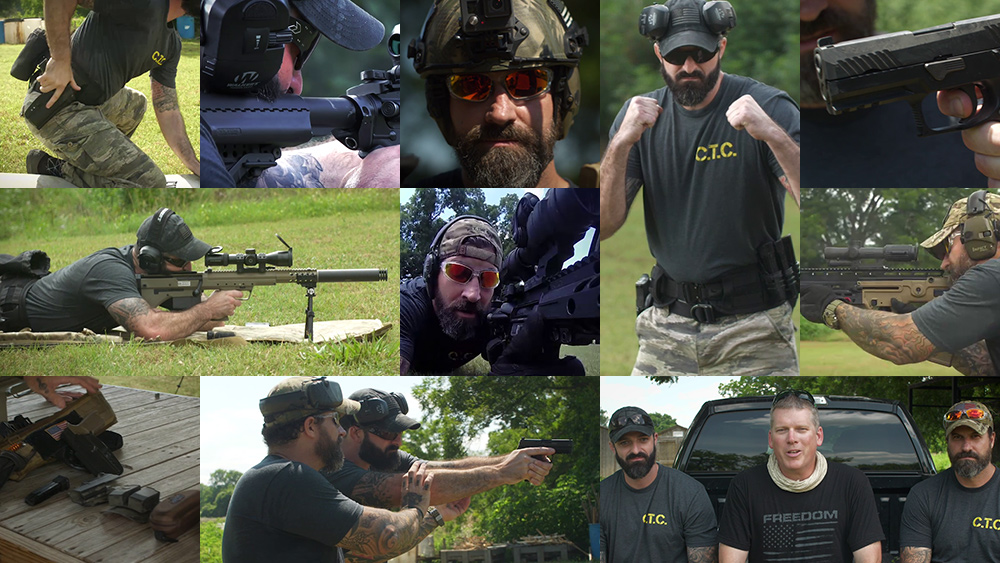 Image: REAL Self-Defense, episodes 3, 4, 5 now posted: Navy SEAL and U.S. Marine teach you to protect yourself with a handgun