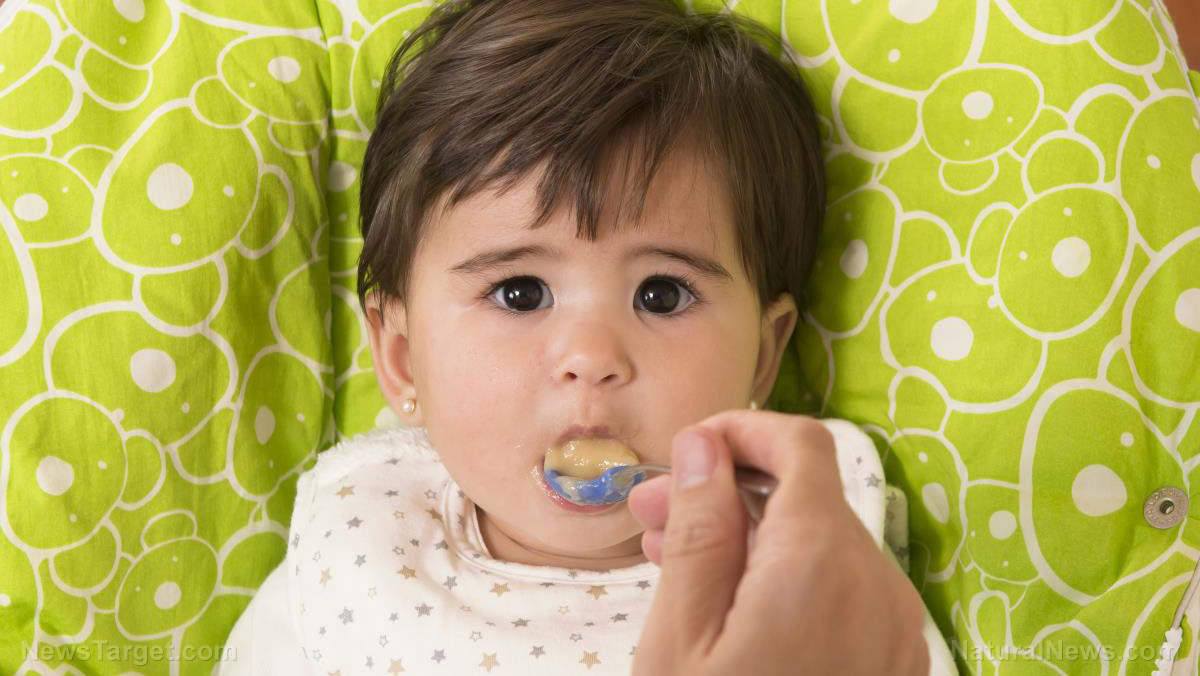 Image: 20 percent of baby food tested positive for LEAD, reveals ten-year study