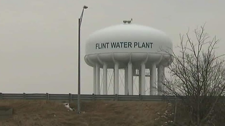 Image: Detroit science officials charged with manslaughter over lead poisoning of Flint water supply
