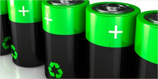 Image: Researchers discover way to make lithium-ion battery components out of recycled glass bottles