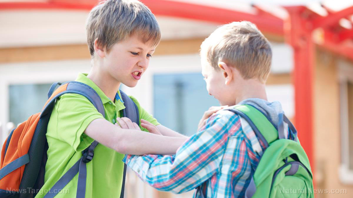 "Image: Most bullying teaches resilience: New research finds most kids ""get over it"" in a few years"