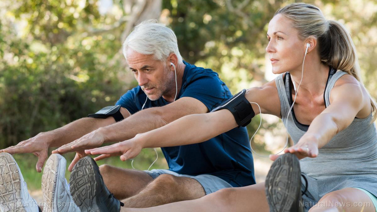 Image: Study shows men should keep playing: Active lifestyle now makes you five times more likely to be fit when you're older