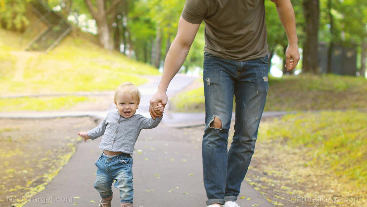 Image: Good fathers essential to having healthy, well-balanced children, primate research finds