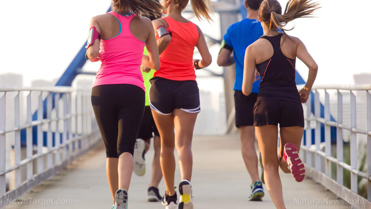 Image: Going for a run is just as beneficial to your brain as to your waistline, study finds