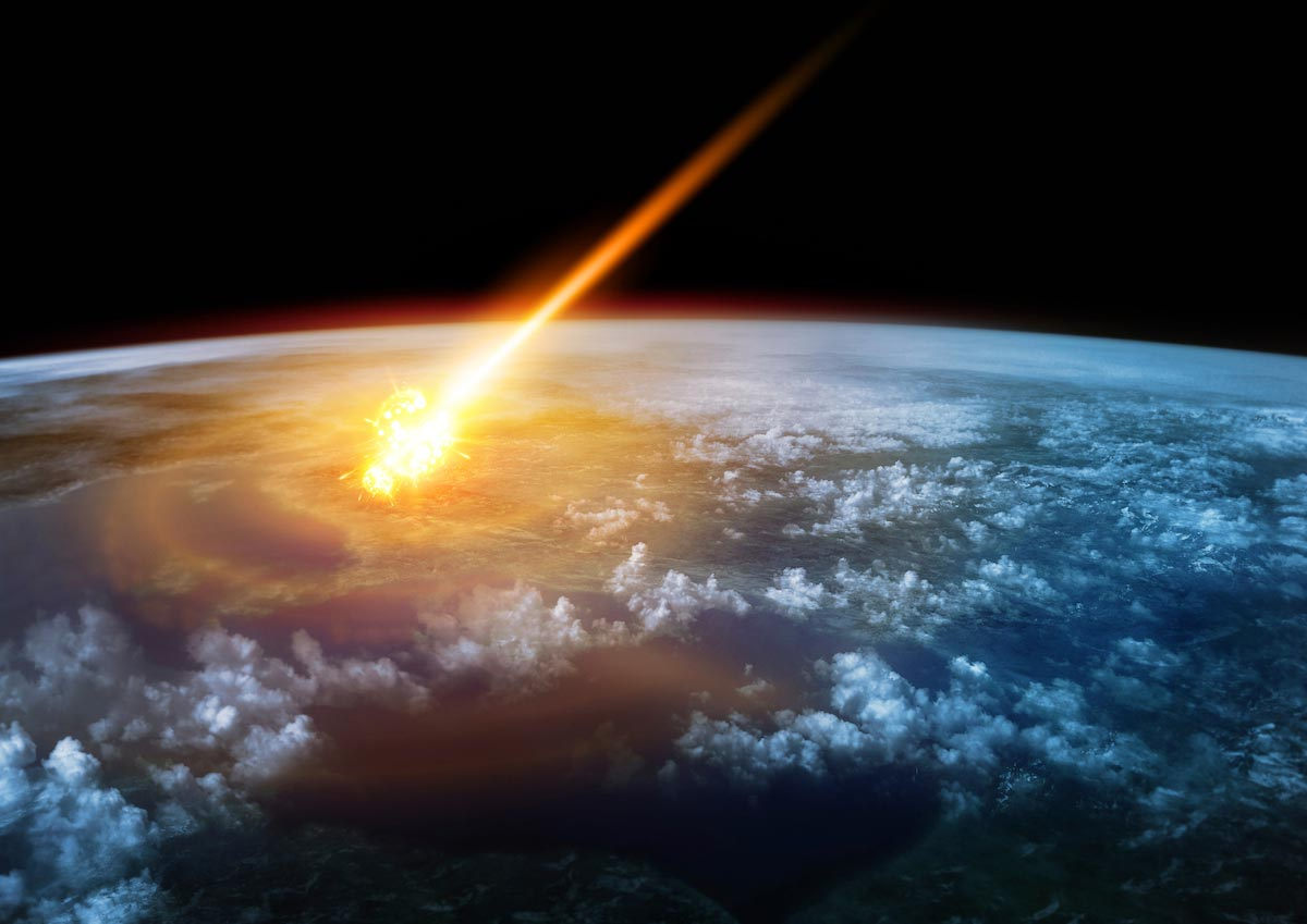 Image: So, we're ALL aliens? New research suggests that DNA molecules were brought to Earth on meteorites