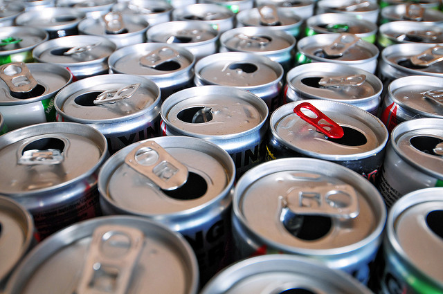 Image: Health watchdogs demand ban on energy drinks for children: One energy drink can contain up to 20 TEASPOONS of sugar