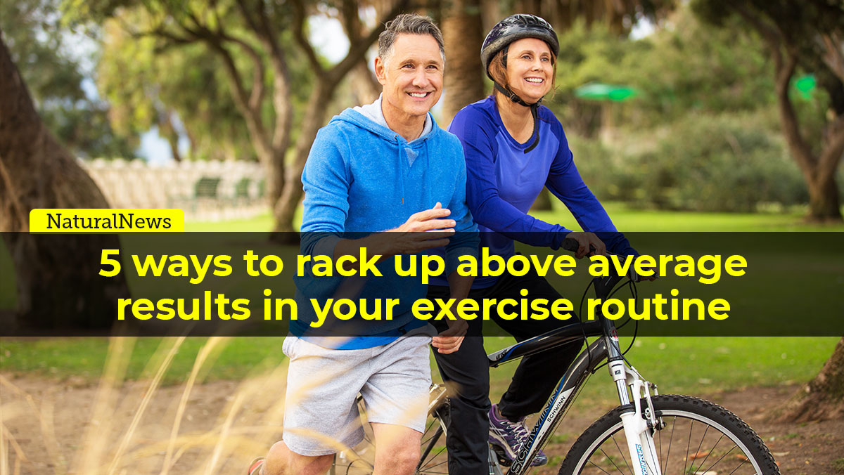 Image: 5 ways to rack up above average results in your exercise routine