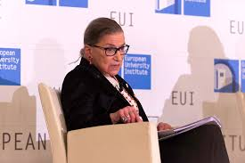 Image: Chemotherapy has harmed Ruth Bader Ginsburg's brain… she had to be reminded by the audience what the 14th Amendment says