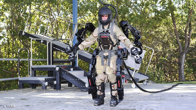 Image: The army is looking to develop a superhuman suit that will prevent brain injuries