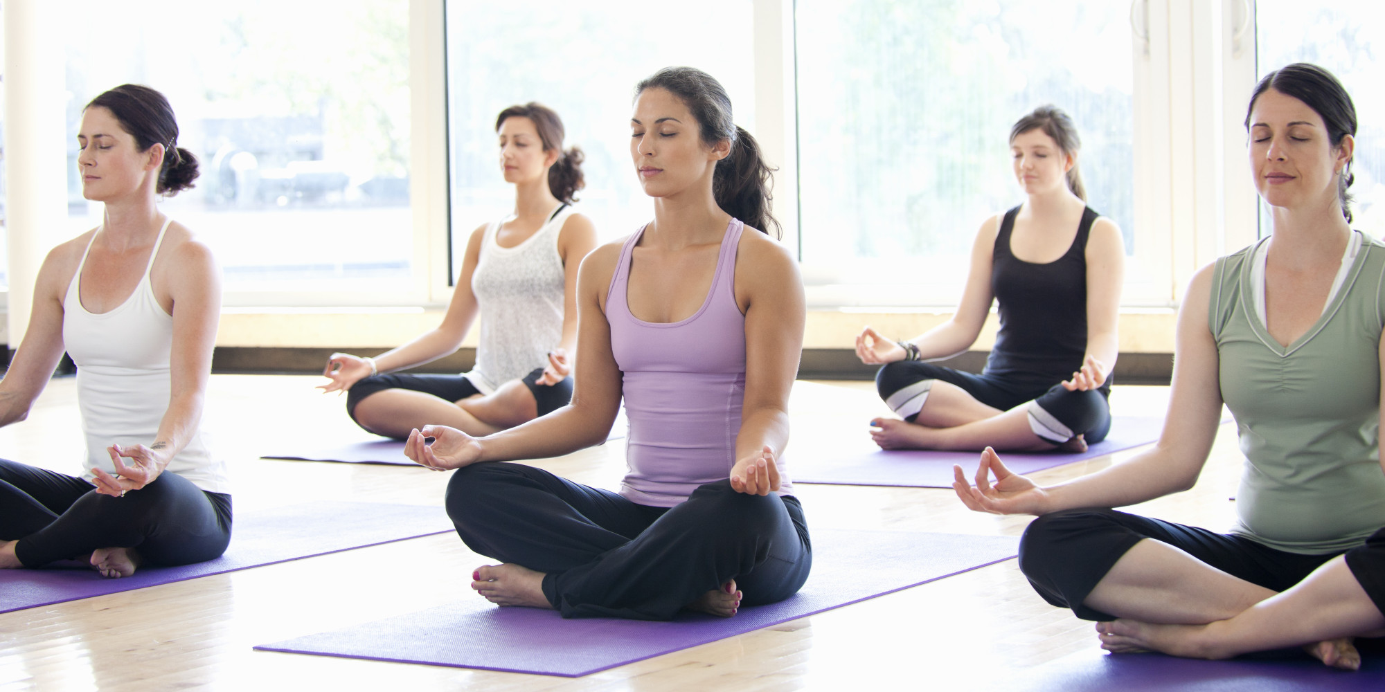 Image: Atrial fibrillation may be caused by stress: Research shows yoga improves quality of life for sufferers by lowering heart rate, blood pressure