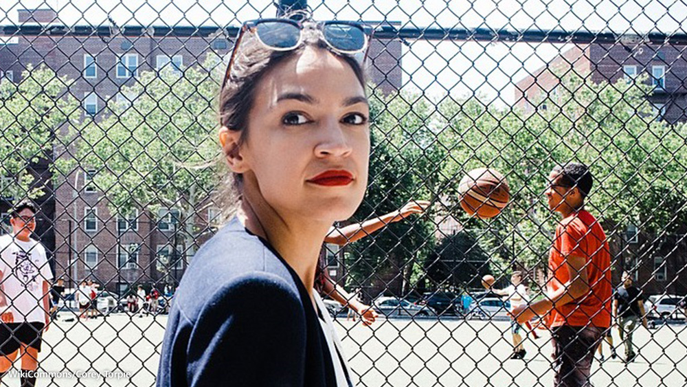 Image: Dear God, help us: Alexandria Ocasio-Cortez can't name the three branches of government (hint: She was somehow elected to one of them)
