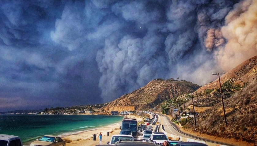 Image: Self-induced DISASTER: California fires the direct result of shortsighted environmentalist policies that prohibit forest management