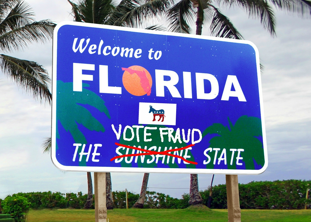 Image: Massive election fraud in Florida reveals the deep deception of Democrats… they do this in every election, too
