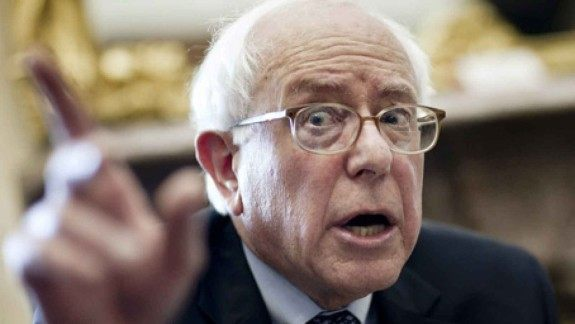 "Image: United Socialist States of America: ""Crazy Bernie"" wants to give everyone a government job — what could go wrong?"