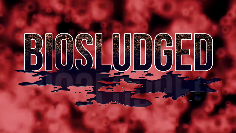 Image: BIOSLUDGE is a toilet-to-farm scheme that deposits toxic sewage sludge on food crops all across America