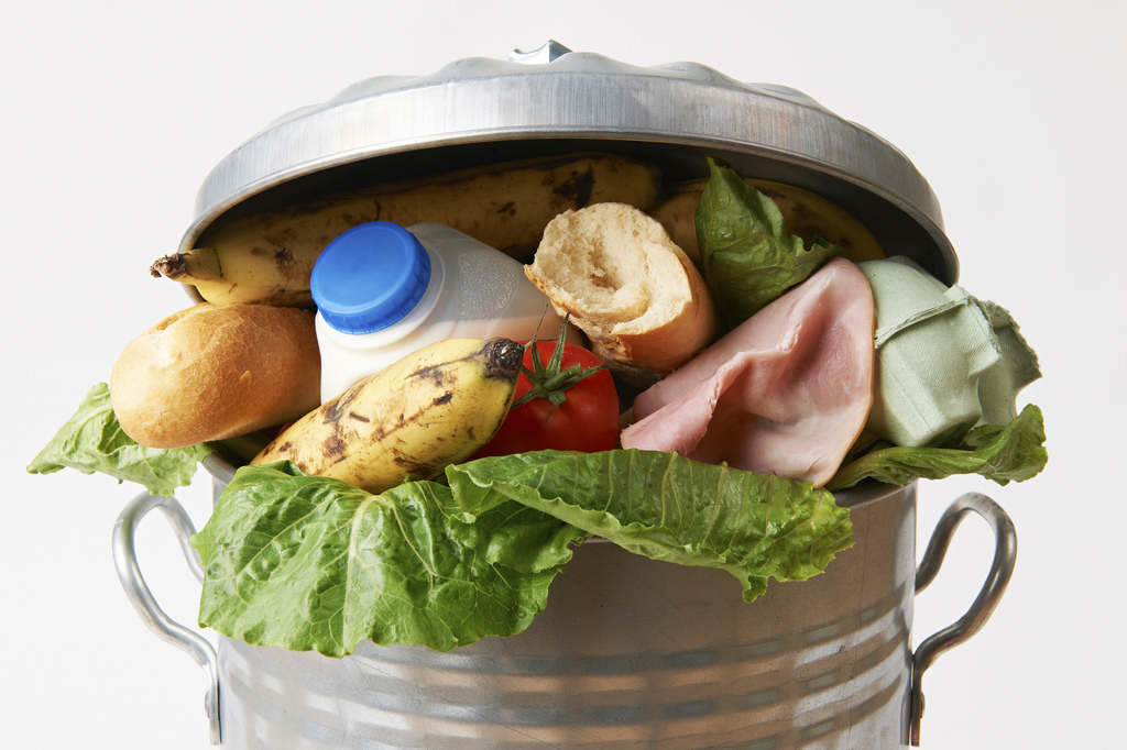 Image: Food waste being recycled to become consumer products