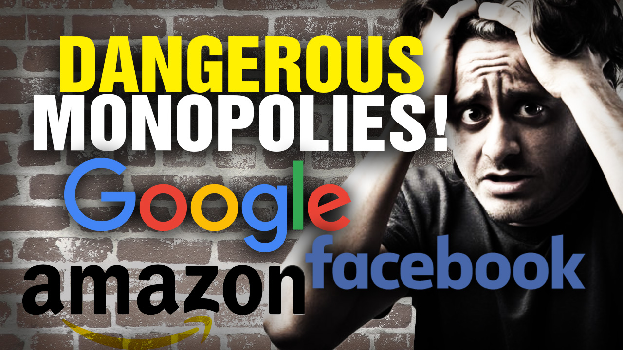 Image: Now even Left-wing authors are decrying the dangerous online fascism of Amazon, Google and tech giants