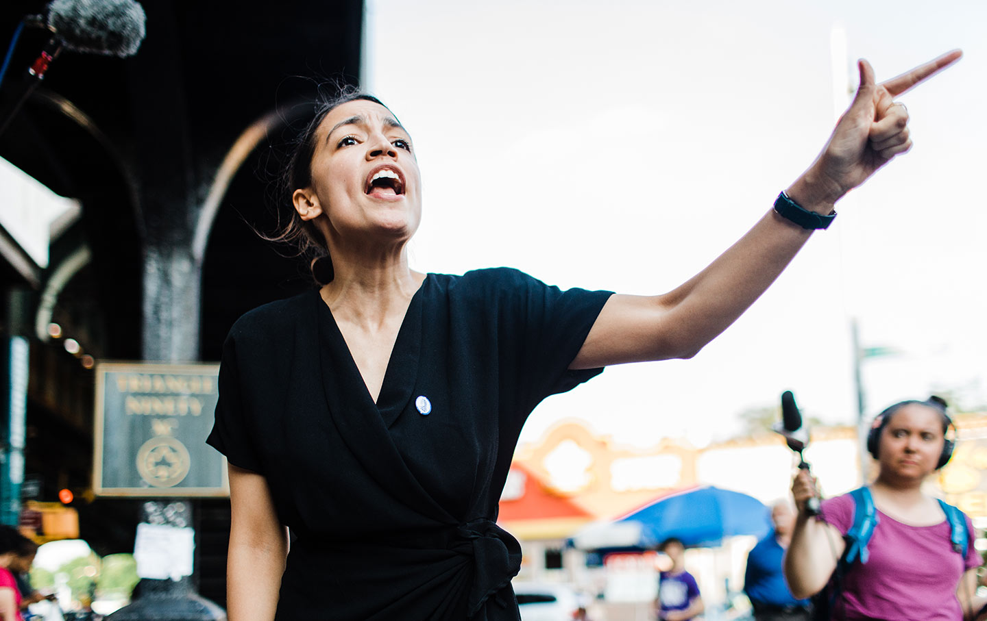 "Image: Spewing total nonsense, Ocasio-Cortez claims ""climate governance"" will create ""racial justice"" … do these nut jobs realize how stupid they sound?"